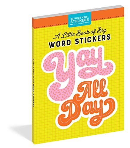 A Little Book of Big Word Stickers (Pipsticks+Workman)