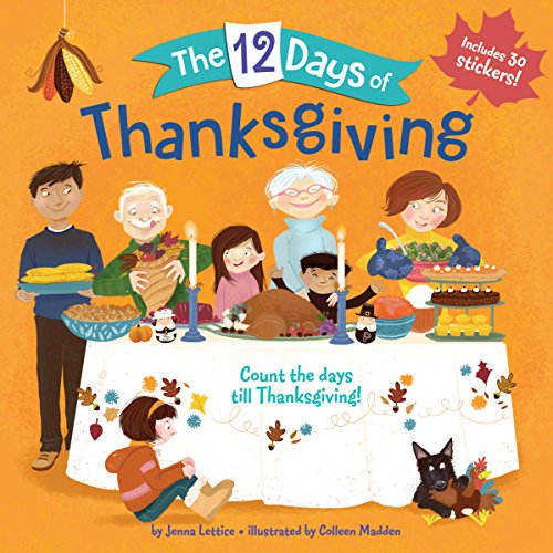 The 12 Days of Thanksgiving (Count the Days)