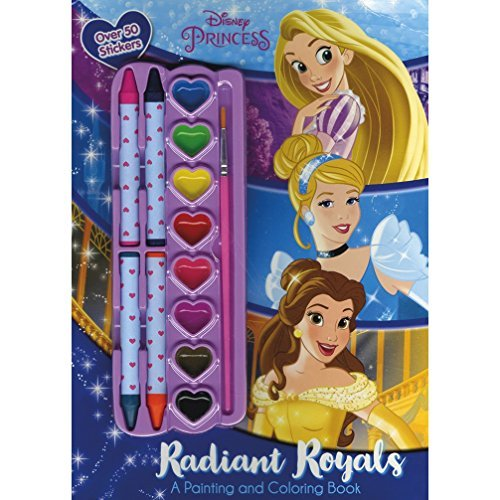 Radiant Royals Painting and Coloring Book (Disney Princess)