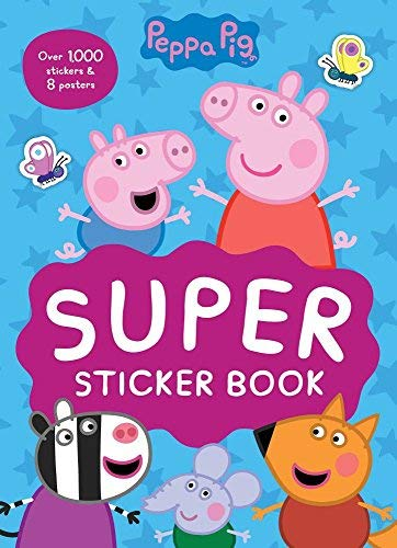 Super Sticker Book (Peppa Pig)