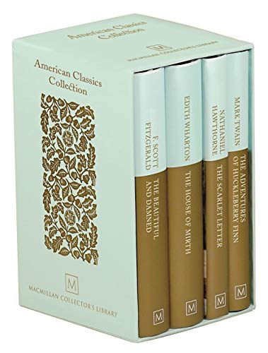 American Classics Collection (The Beautiful and Damned/The House of Mirth/The Scarlet Letter/Huckleberry Finn, Macmillan Collector's Library)