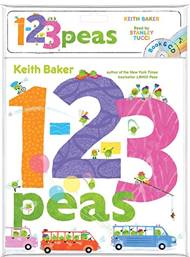 1-2-3 Peas (Book and CD)