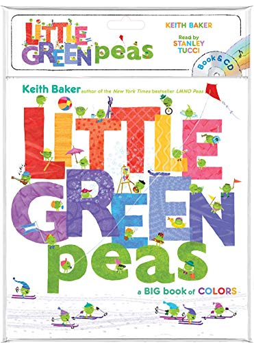 Little Green Peas (Book and CD)