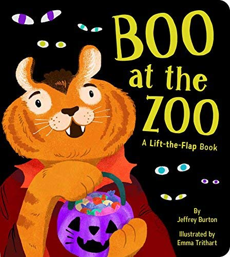 Boo at the Zoo: A Lift-the-Flap Book