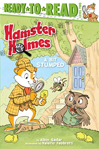 Hamster Holmes, A Bit Stumped (Ready-to-Read, Level 2)