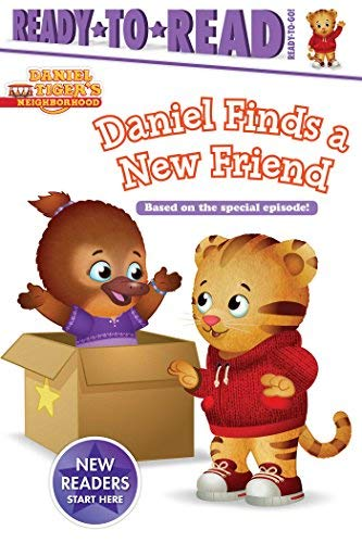 Daniel Finds a New Friend (Daniel Tiger's Neighborhood, Ready-to-Read - Ready-to-Go!)