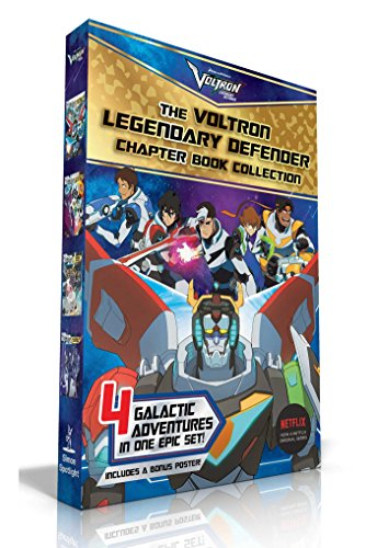 The Voltron Legendary Defender Chapter Book Collection (The Rise of Voltron/Battle for the Black Lion/Space Mall/The Blade of Marmora)