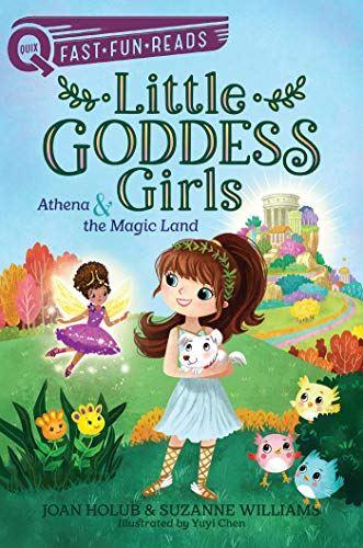 Athena & the Magic Land (Little Goddess Girls, Bk. 1 - Quix Fast, Fun, Reads)