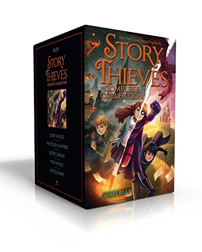 Story Thieves Complete Collection: Story Thieves/The Stolen Chapters/Secret Origins/Pick the Plot/Worlds Apart