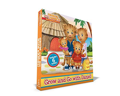 Grow and Go with Daniel! (Daniel Tiger's Neighborhood, 6 Book Set)