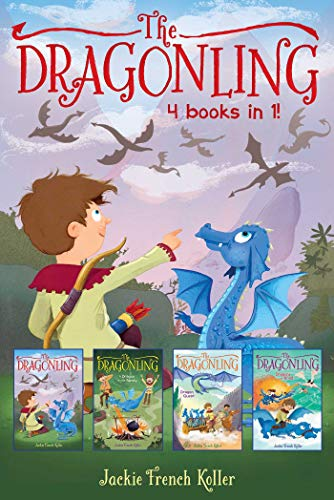 The Dragonling, 4 Books in 1 (The Dragonling/Dragon in the Family/Dragon Quest/Dragons of Krad)