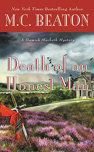 Death of an Honest Man (A Hamish Macbeth Mystery - Large Print)