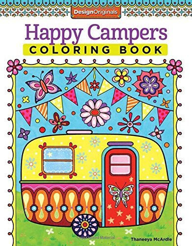 Happy Campers Coloring Book (Coloring Is Fun)