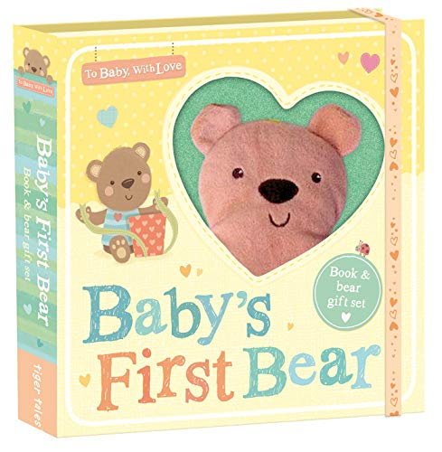 Baby's First Bear: Book and Lovey Gift Set (To Baby With Love)