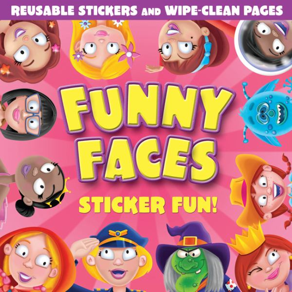 Funny Faces Sticker Fun!