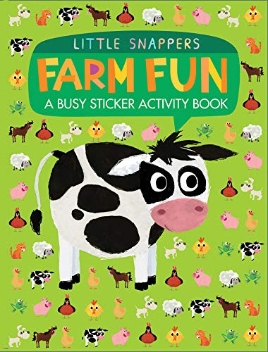 Farm Fun: A Busy Sticker Activity Book (Little Snappers)