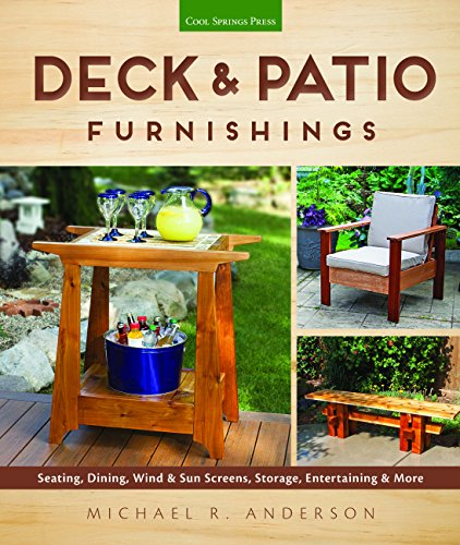 Deck & Patio Furnishings: Seating, Dining, Wind & Sun Screens, Storage, Entertaining & More