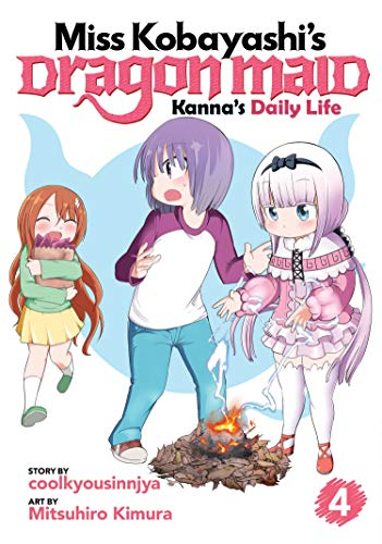 Kanna's Daily Life (Miss Kobayashi's Dragon Maid, Vol. 4)
