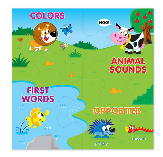 Animal Friends (Connect-a-Book)