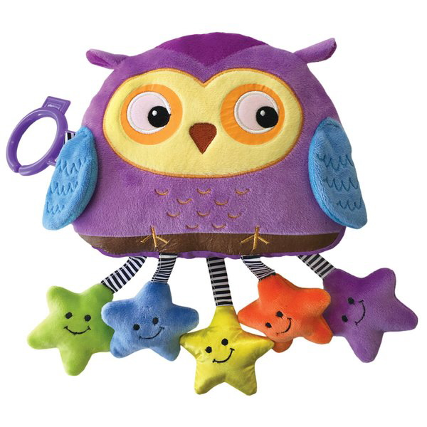 Twinkle, Twinkle Little Star Plush Book with Sound (Jiggle & Discover)