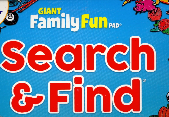 Search & Find (Giant Family Fun Pad)