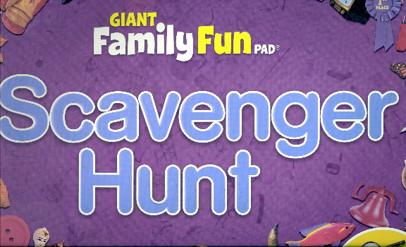 Scavenger Hunt (Giant Family Fun Pad)