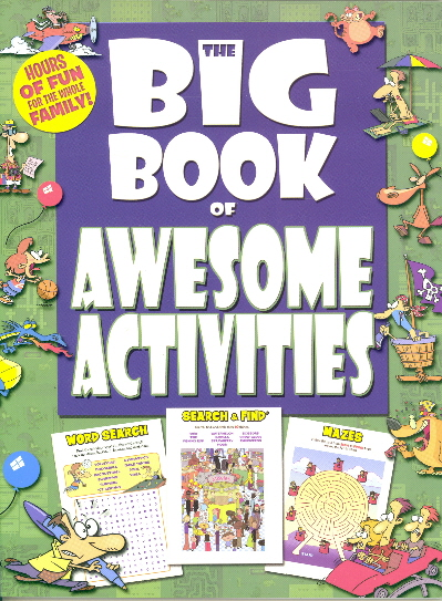 The Big Book Bundle (Awesome Activities/Seek & Find/Search & Find)