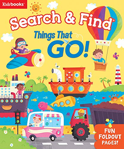 Things That Go! (Search & Find)