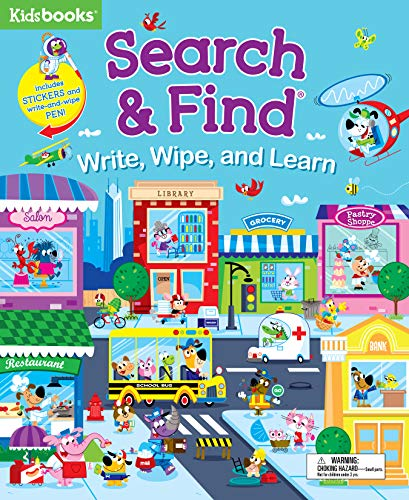 Search & Find: Write, Wipe, and Learn
