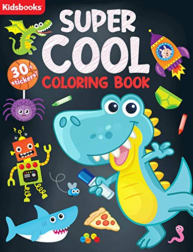 Super Cool Coloring Book