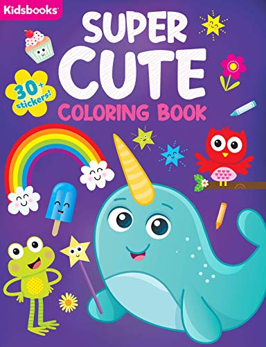Super Cute Coloring Book