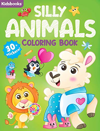 Silly Animals Coloring Book
