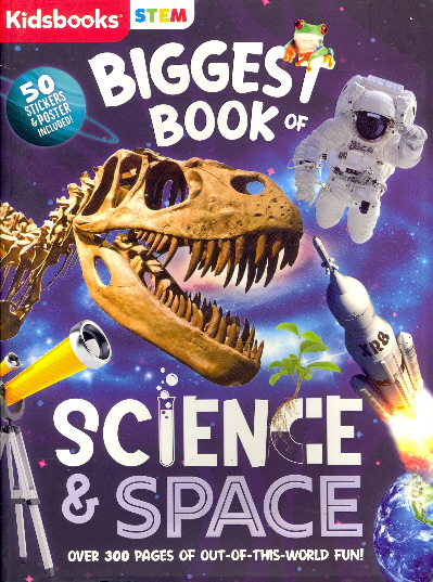 Biggest Book of Science & Space (STEM)