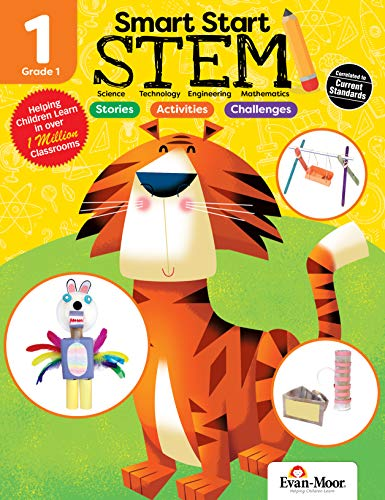 Smart Start STEM Activity Book (Grade 1)