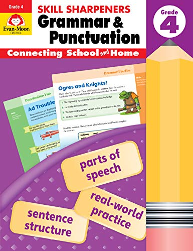 Grammar & Punctuation (Skill Sharpeners, Grade 4)