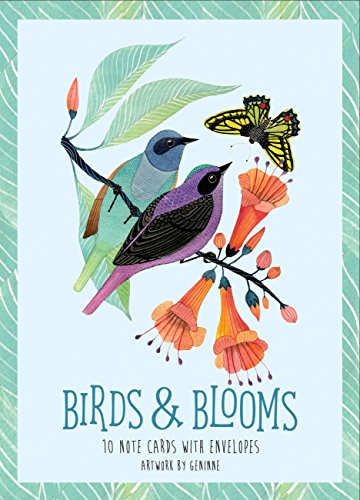 Birds & Blooms: Note Cards