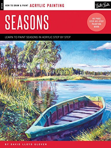 Seasons: Learn to Paint Step by Step (How to Draw & Paint: Acrylic Painting)