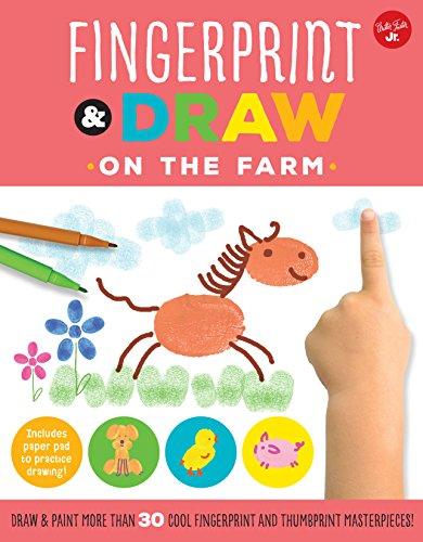 On the Farm (Fingerprint & Draw)
