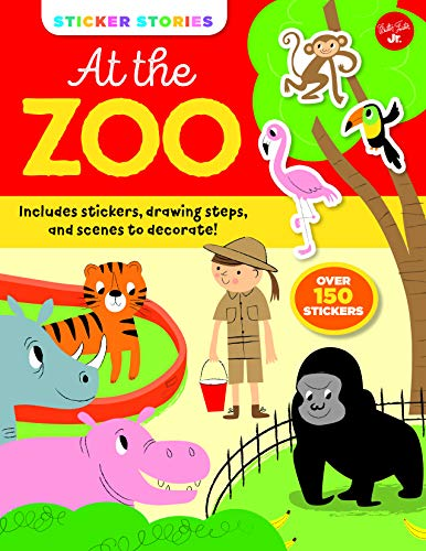 At the Zoo (Sticker Stories)