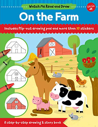 On the Farm (Watch Me Read and Draw)