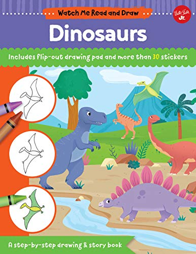 Dinosaurs (Watch Me Read and Draw)