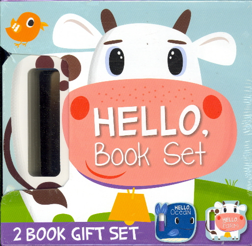 Hello, Book Set (2 Book Gift Set - Ocean, Farm)