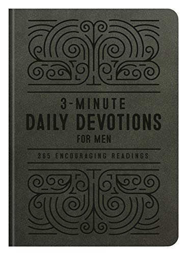 3-Minute Daily Devotions for Men: 365 Encouraging Readings (3-Minute Devotions)