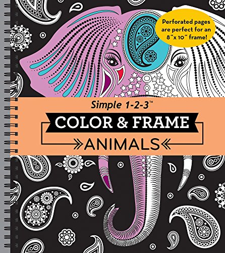 Animals (Color & Frame Coloring Book)