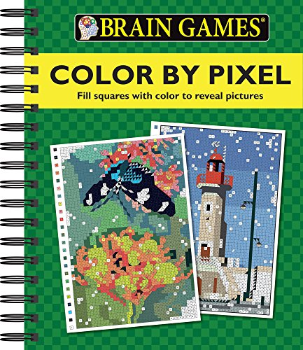 Color by Pixel (Brain Games)