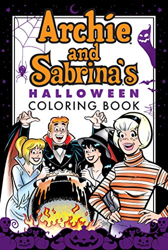 Archie & Sabrina's Halloween Coloring Book