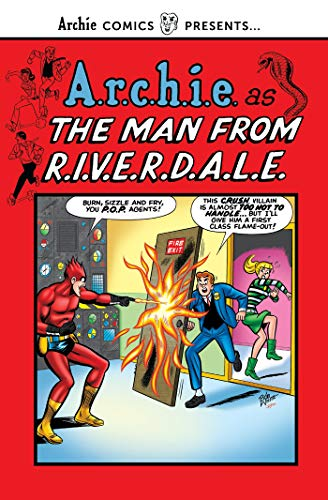 A.r.c.h.i.e. as the Man from R.I.V.E.R.D.A.L.E. (Archie Comics Presents)