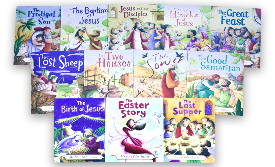My First Bible Stories (12 Pack)