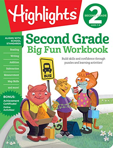 Second Grade Big Fun Workbook (Highlights)