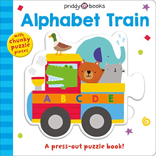 Alphabet Train: A Press-Out Puzzle Book